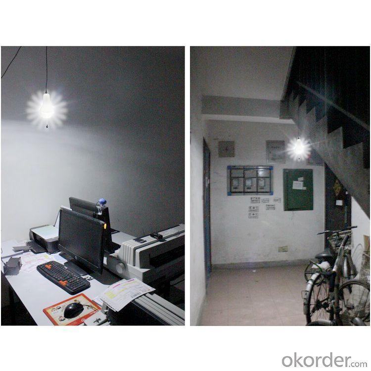 China Factory Quality 4400mah 5V Mobile Charge Solar Lantern Super Bright Solar Flashlight Solar Lamp Indoor Blue