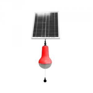 China Factory High Quality ABS Plastic LED Solar Lamp Globe Super Bright Solar Lantern Indoor Solar Lights Red