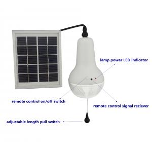 China Factory Brightest Rechargeable Solar Lamp With Remote Control Indoor Solar Lighting Yellow