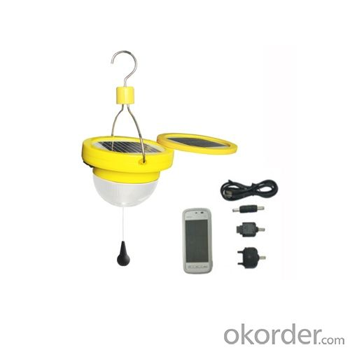 waterproof solar lantern with mobile charge