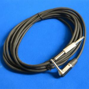 Stocked!Low Price $0.67/Piece Promoting Mono 6.35Mm Plug Black Guitar Cable