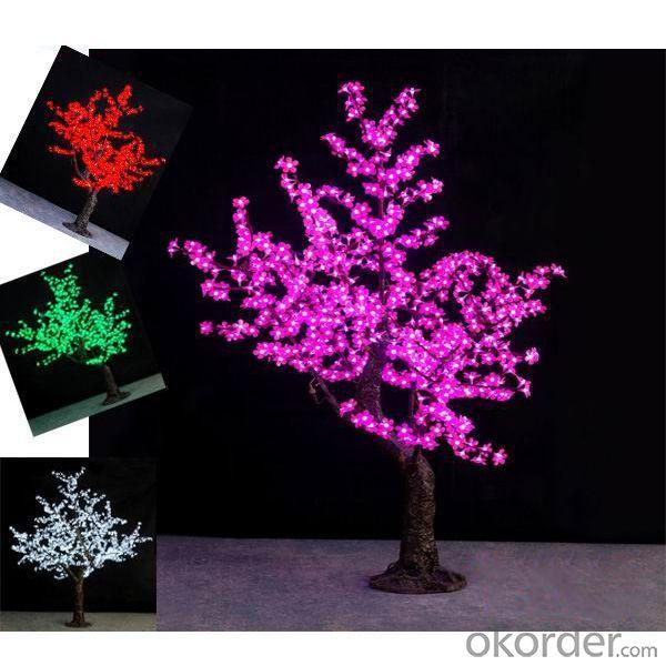 Christmas Decoration Led Tree Lighting/ Low Price Led Tree Lamp And Led Tree Light With Lotus Flower