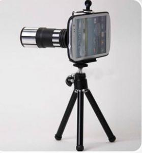 12X Metal Telephoto Lens For Galaxy S3/S4/Note Ii