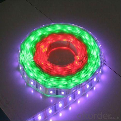 Super Bright Dc12V 14.4W/M 300Led 5050 Smd Waterproof Led Soft Strip Light Led Flexible Strip