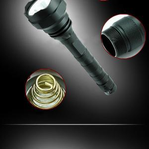 10W CREE XM-L 1000LM 18650 Super Bright Aluminum Tactical Rescue LED Flashlight