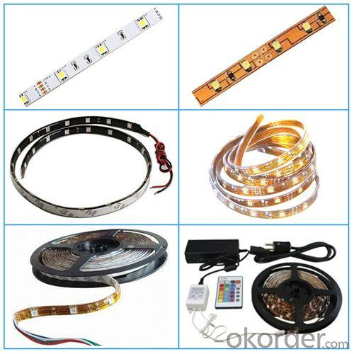 High Efficiency Waterproof 60Led/M Bule Led Strip 3528 60Led/M Led Strip
