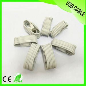 Paypal 1M White 8Pin 2.0 Usb Cable For Iphone 5 Wholesale Ios7.1 Date Sync And Charger
