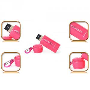 New Micro SD Memory TF Reader Rechargeable USB Mini Torch