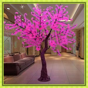 Artificial Outdoor Holiday Decoration Led Tree Light/Led Cherry Blossom Tree Light