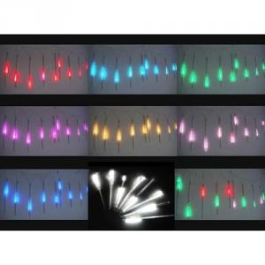 Smd3528 Double Sides Rgb Lighting Led Meteor Lights Christmas Festival Tree Lights