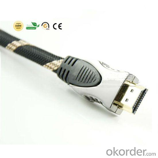 High End HDMI Cable With Gold Plated 1.4V HDMI Cable+Ethernet+3D