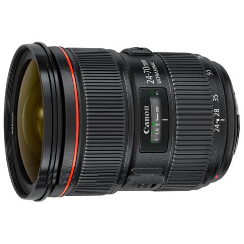 Standard Zoom Lens! Canon Lens Ef 24-70mm F/2.8L Ii Usm