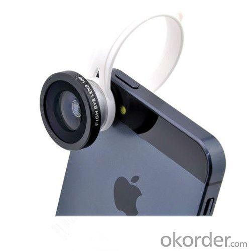 Ib-H8002 Universal Clip 180 Degree Fisheye Lens For Iphone