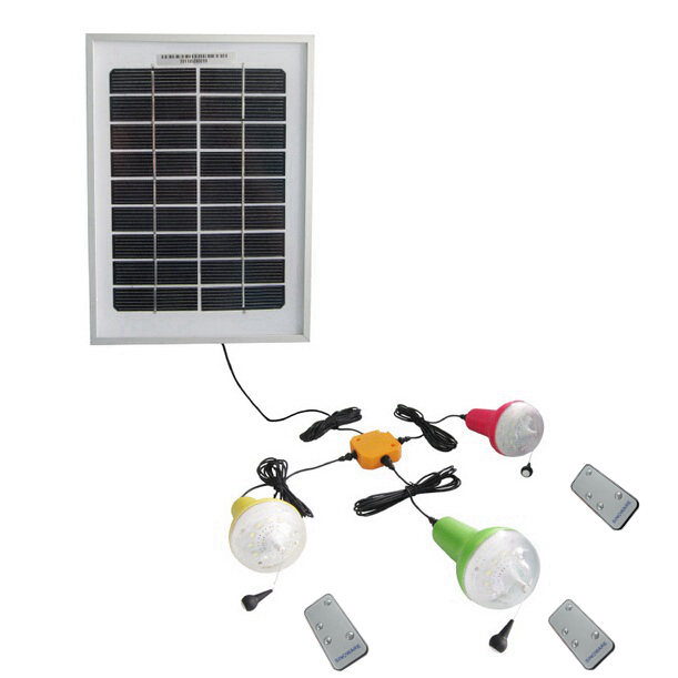 China Manufacture Remote Control Solar Lamp High Lumens LED Solar Lights 220lm With 10W 5V Solar Panel Charge