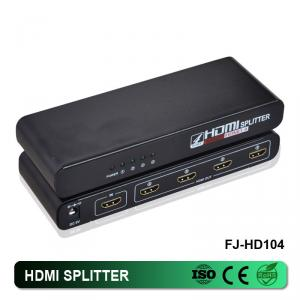 1 In 4 Out HDMI Splitter 3D 1080P