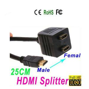 1*2 1 To 2 HDMI Splitter Cable
