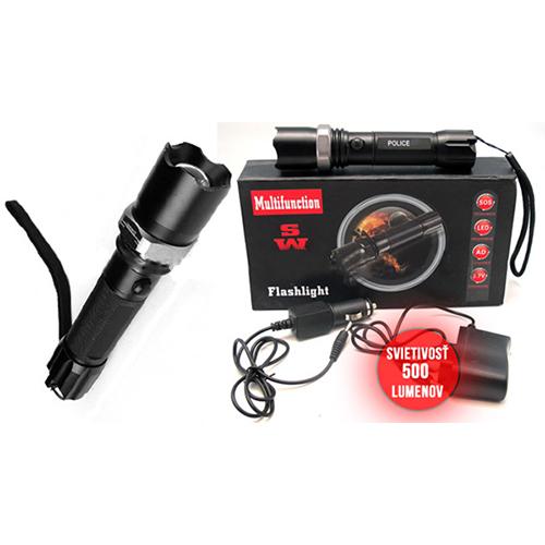 Multifunction Swat Flashlight