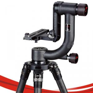 Nest Nt-530H Gimbal Head Tilt Head Bird Watching Head With Quick Release Plate And Carry Bag