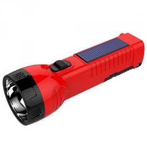 High Power Rechargeable Solar Led Flashlight