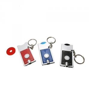 PVC Led Keychain With Flashlight