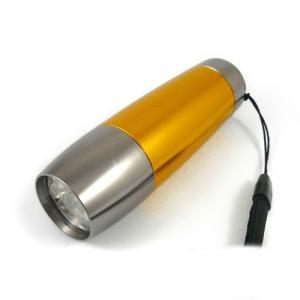 9 Led Aluminum Alloy Emergency Blue Flash Light