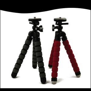 Mini Flexible Tripod For Compact Digital Camera, Sponge Type