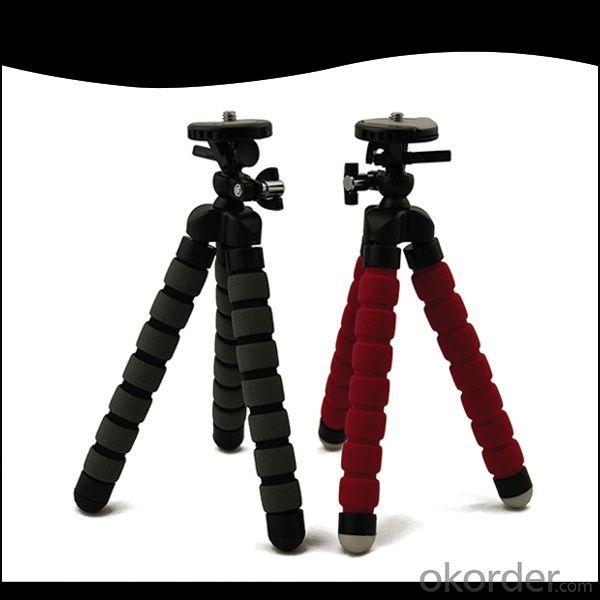 Mini Flexible Tripod For Compact Digital Camera, Sponge Type