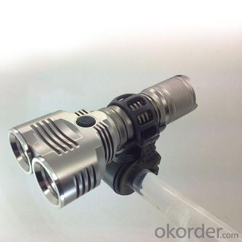 New Model 2 Cree Led Flashlight Use On Bicycle