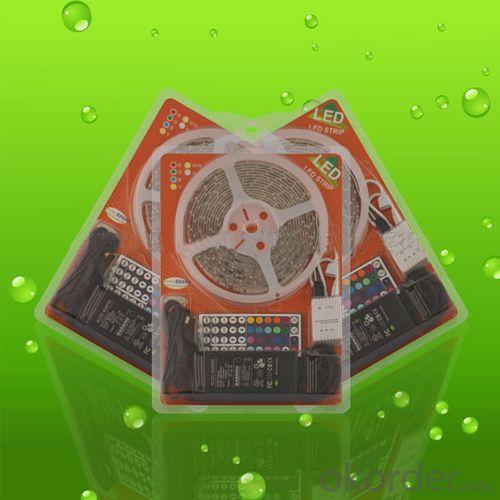2014 New Hit Blister Packaging 5M Rgb Led Strip Set 5050