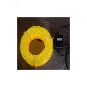 X'Mas Building Architecture Indoor & Outdoor El Wire, Flexible Neon Rope Light