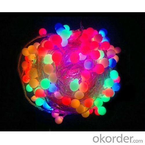 Led String Ball Lamp Light 25M Outdoor Waterproof 220V Multicolor Mini Globe Wedding Decoration Light