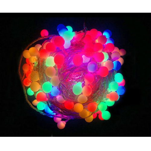 Led String Ball Lamp Light 25M Outdoor Waterproof 220V Multicolor Mini Globe Wedding Decoration Light