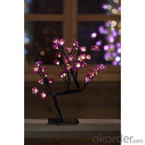 Christmas Lighting -48Led,H:45C M,Flower Tree Lights
