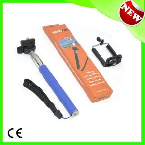 2014 New Hot Mini Travel Flexible Wireless Monopod For Camera Mobile Phone