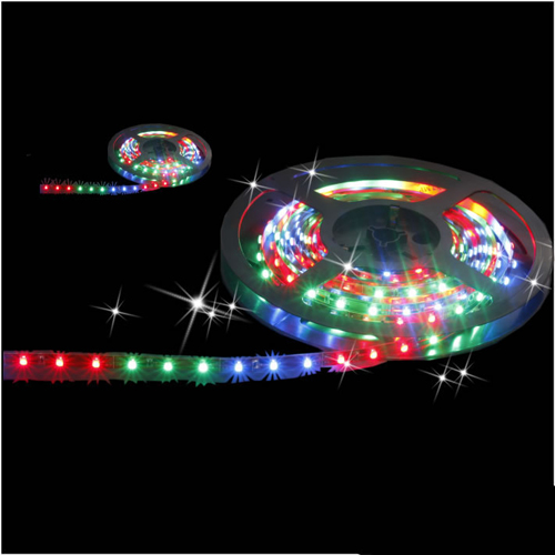 Blister Packing Flexible Led Strip Light Rgb Smd 5050 300Led 5M Ip65+ 24 Keys Controller + 5A Power