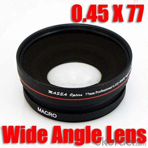 77mm 0.45X Professional Camera Wide Angle Lens Macro Dc/Dv Japan For Canon Nikon Sony