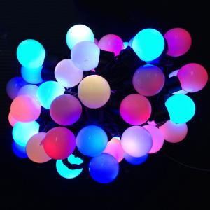 Mix Color Decorative Led Christmas Mini Globe Fairy Lights