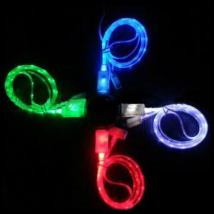 New And Hot Selling Led Data Cable For Iphone5/Iphone4/Samsung