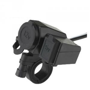 12V Car And Motorcycle Cigarette Lighter Socket With Usb Ports