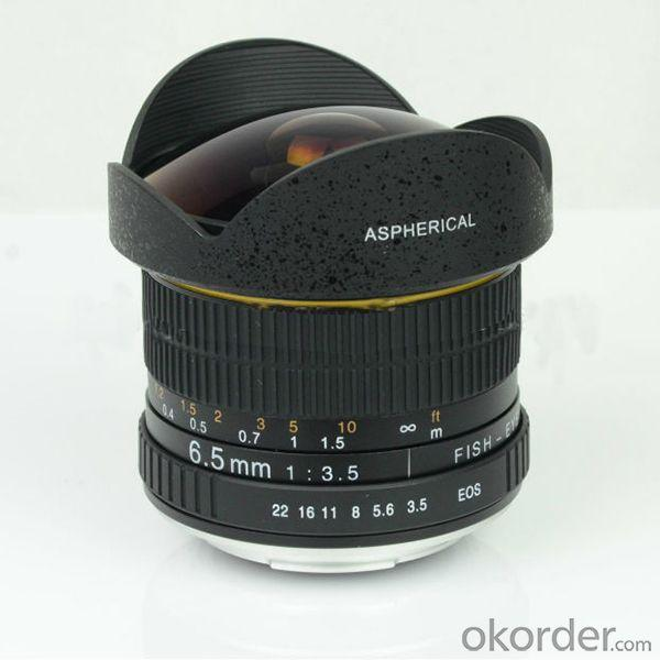 Lentes 6.5mm F/3.5-22 Fisheye Lens For Canon Eos 100D