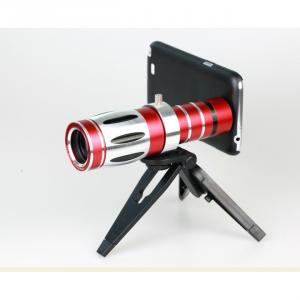 20X Zoom Telephoto Lens For Galaxy S4 S4 Note Ii 2 + Phone Case Holder+ Tripod + Pouch Aluminum Alloy Optical Glass Telescope