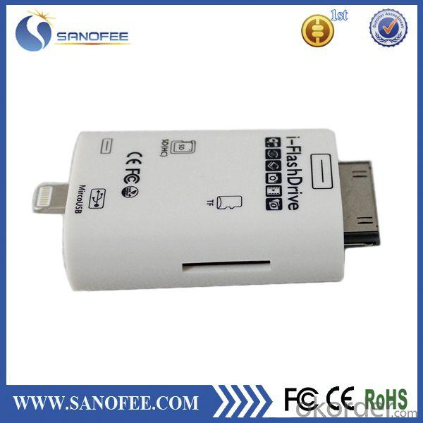 Made in china iflash drive smart Card Reader for iphone 5