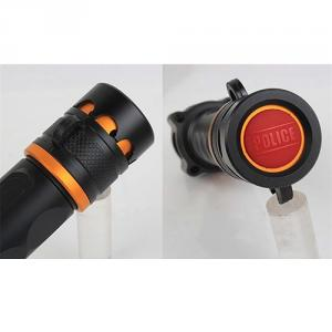 2014 Hots!!! Laysun Cree Xml T6 Aluminum Alloy Flashlight Torch With Alarm