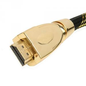 High-End HDMI Cable With Nylon Braid With Ethernet