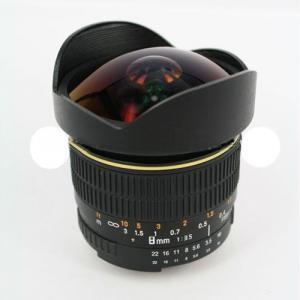 8mm F/3.5 Fisheye Lens For Canon Eos 7D T1I Xsi 50D 60D 40D 30D 20D