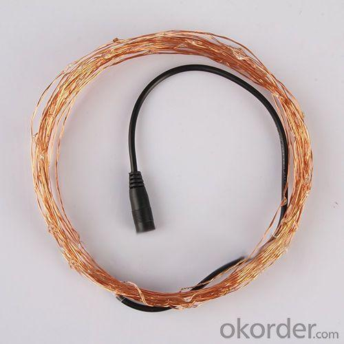 Led Copper Wire Light String, 2013 Led Decoration Copper Wire String Lights