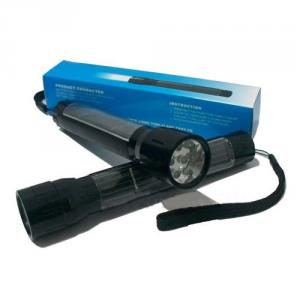 45ma 600MAH 7 LED Solar Torch