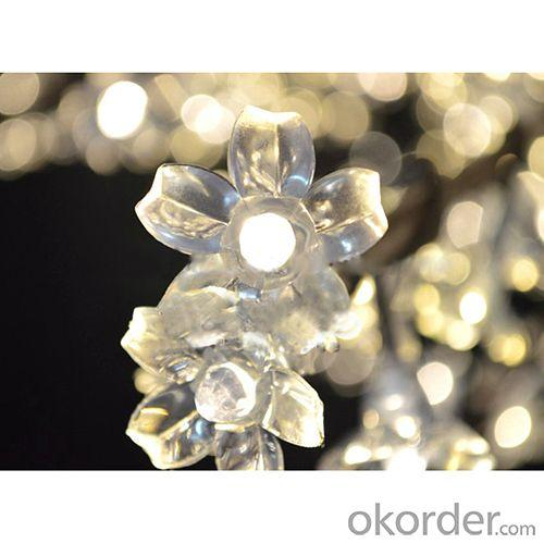 Warm White Led Cherry Tree Lighting, Led Acrylic Cherry Tree