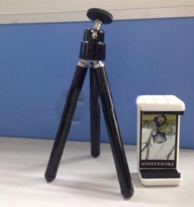 Mini Tripod With Mobile Phone Holder