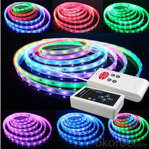 Waterproof Glue Surface 5 M 300 Led Rgb Color Flexible Led Strips